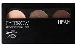 Düfte, Parfümerie und Kosmetik Augenbrauen-Palette - Hean Professional Eyebrow Set 2
