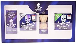 Düfte, Parfümerie und Kosmetik Set - The Bluebeards Revenge (balm/100ml+cr/100ml+shaving brush+shaver)