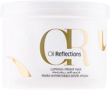 Pflegende Maske für strahlendes und glattes Haar - Wella Professionals Oil Reflections Luminous Reboost Mask — Bild N3