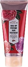 Düfte, Parfümerie und Kosmetik Regenerierender Haarmaske mit Hagebutte für stapaziertes Haar - Welcos Rose Hip Perfume Hair Treatment