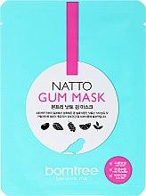 Düfte, Parfümerie und Kosmetik Feuchtigkeitsspendende Anti-Falten Tuchmaske - Borntree Natto Gum Mask