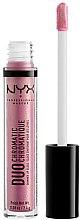 Düfte, Parfümerie und Kosmetik Lipgloss - NYX Professional Makeup Duo Chromatic Lip Gloss