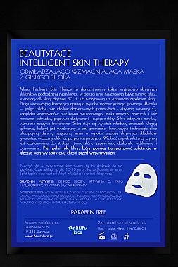 Gesichtsmaske mit Ginkgo Biloba Extrakt - Beauty Face Intelligent Skin Therapy Mask — Bild N1