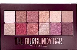 Düfte, Parfümerie und Kosmetik Lidschattenpalette - Maybelline The Burgundy Bar Palette