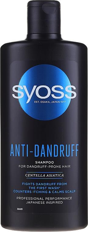 Anti-Schuppen Shampoo - Syoss Anti-Dandruff Centella Asiatica Shampoo