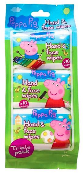 Feuchttücher für Gesicht und Hände - Kokomo Peppa Pig Peppa Hand & Face Wipes — Bild N1