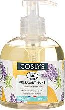 Düfte, Parfümerie und Kosmetik Reinigende Handcreme mit Lavendel und Zitrone - Coslys Hand & Nail Care Hand Wash Cream Lemon & Lavender