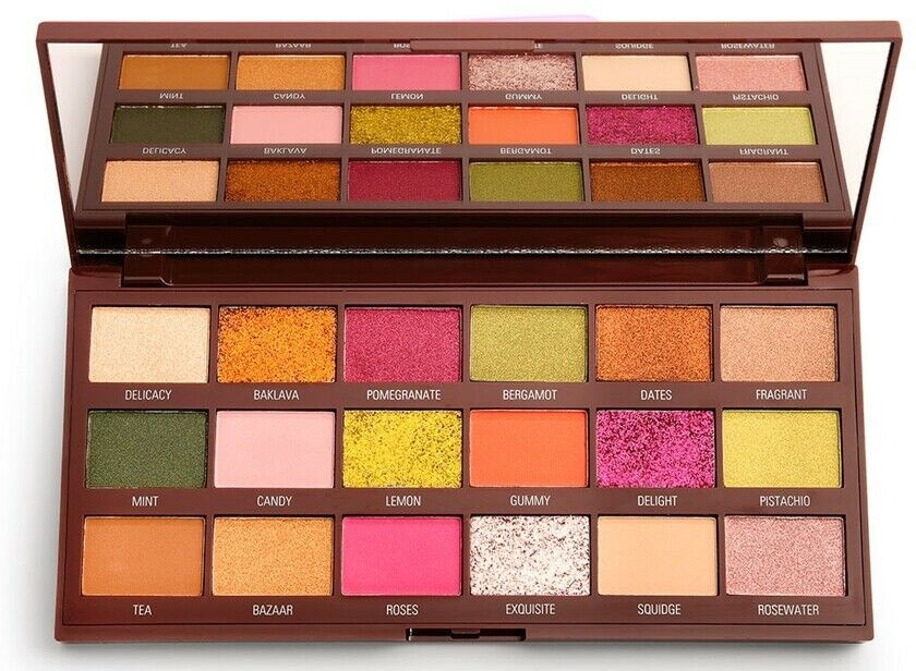 Lidschattenpalette - I Heart Revolution Eyeshadow Chocolate Palette Turkish Delight