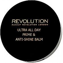 Düfte, Parfümerie und Kosmetik Transparente mattierende Grundierung - Makeup Revolution Ultra All Day Prime & Anti-Shine Balm