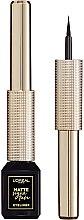 Düfte, Parfümerie und Kosmetik Flüssiger Eyeliner - L'Oreal Paris Matte Signature Eyeliner