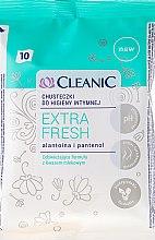 Düfte, Parfümerie und Kosmetik Intim-Pflegetücher mit Allantoin und Panthenol 10 St. - Cleanic Intensive Care Wipes