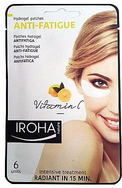 Gelpatches gegen müde Augen mit Vitamin C - Iroha Nature Anti-Fatigue Hydrogel Patches Vitamin C — Bild N1