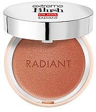 Düfte, Parfümerie und Kosmetik Gesichtsrouge mit glänzendem Finish - Pupa Extreme Blush Radiant