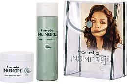 Düfte, Parfümerie und Kosmetik Haarpflegeset - Fanola No More Kit Travel Size (Shampoo 100ml + Haarmaske 50ml + Kosmetiktasche)