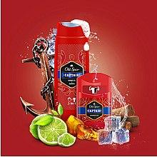 Duftset - Old Spice Captain For The Legend (Deo-Stick 50g + 2in1 Duschgel und Shampoo 250ml) — Bild N3
