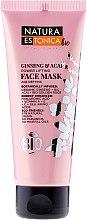 Düfte, Parfümerie und Kosmetik Energetisierende Lifting-Gesichtsmaske mit Bio Ginseng und Bio Acai - Natura Estonica Ginseng & Acai Face Mask