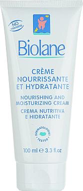 Pflegende und feuchtigkeitsspendende Baby-Creme - Biolane Baby Nourishing and Moisturizing Cream — Bild N2