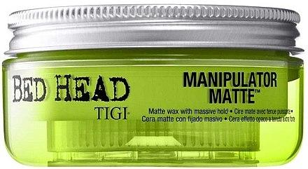 Mattierendes Haarwachs Starker Halt - Tigi Manipulator Matte — Bild N1
