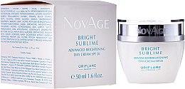 Düfte, Parfümerie und Kosmetik Aufhellende Tagescreme SPF 20 - Oriflame NovAge Bright Sublime SPF 20