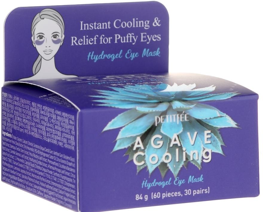 Kühlende Hydrogel-Augenpatches mit Agavenextrakt - Petitfee&Koelf Agave Cooling Hydrogel Eye Mask