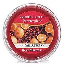 Düfte, Parfümerie und Kosmetik Tart-Duftwachs Mandarin Cranberry - Yankee Candle Mandarin Cranberry Scenterpiece Melt Cup