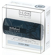 Düfte, Parfümerie und Kosmetik Auto-Lufterfrischer Silberner Geist - Millefiori Milano Icon Car Air Freshener Silver Spirit