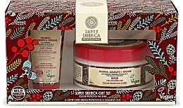 Düfte, Parfümerie und Kosmetik Haarpflegeset für gefärbtes Haar - Natura Siberica Super Siberica Professional Gift Set (Haarcreme 50ml + Haarmaske 300ml)