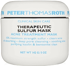 Düfte, Parfümerie und Kosmetik Therapeutische porenreinigende Anti-Akne Gesichtsmaske mit Schwefel - Peter Thomas Roth Sulfur Therapeutic Sulfur Mask