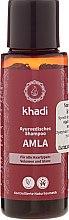 """Düfte, Parfümerie und Kosmetik Ayurvedisches Shampoo """"Amla"""" - Khadi Amla Shampoo"""