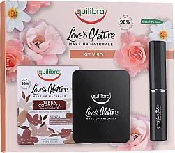Make-up Set - Equilibra Love's Nature (Gesichtspuder 8.5g + Puderpinsel) — Bild N1