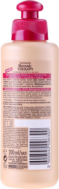 Haarcreme für schwaches Haar mit Rizinusöl und Mandel - Garnier Botanic Therapy — Bild N2