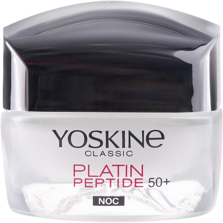 Nachtcreme für normale und Mischhaut 50+ - Yoskine Classic Platin Peptide Face Cream 50+ — Bild N2