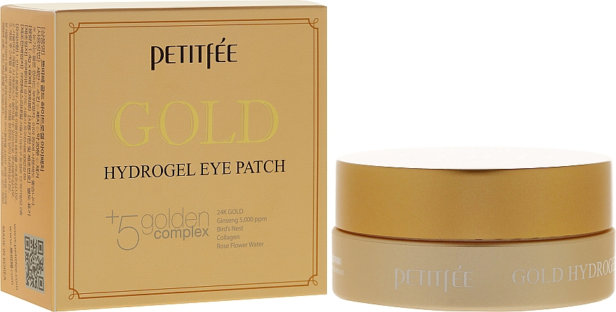 Hydrogel-Augenpatches mit Gold-Komplex - Petitfee & Koelf Gold Hydrogel Eye Patch