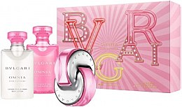 Düfte, Parfümerie und Kosmetik Bvlgari Omnia Pink Sapphire - Duftset (Eau de Toilette 40ml + Körperlotion 40ml + Duschgel 40ml)