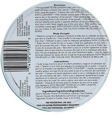 Enthaarungswachs mit Aloe Vera und Vitamin E - Satin Smooth Aloe Vera Wax With Vitamin E — Bild N2