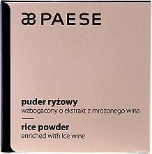 Düfte, Parfümerie und Kosmetik Reispuder mit gefrorenem Weinextrakt - Paese Powder