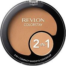 Düfte, Parfümerie und Kosmetik 2in1 Foundation und Concealer - Revlon Colorstay 2-in-1 Compact Makeup & Concealer