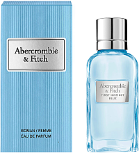 Düfte, Parfümerie und Kosmetik Abercrombie & Fitch First Instinct Blue Women - Eau de Parfum