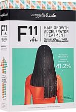 Düfte, Parfümerie und Kosmetik Haarpflegeset - Nuggela & Sule F11 Hair Growth Accelerating Treatment (Shampoo 250ml + Haarserum 70ml)