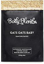 Düfte, Parfümerie und Kosmetik Kaffeepeeling für den Körper mit Hafer - Body Blendz Oats Oats Baby Scrub
