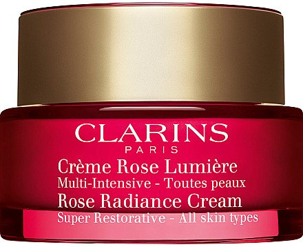 Regenerierende Anti-Aging Tagescreme - Clarins Super Restorative Rose Radiance Cream — Bild N1