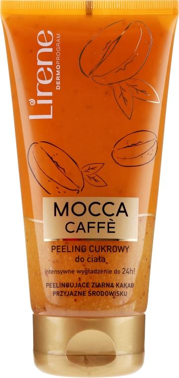 Zuckerpeeling für den Körper mit Mokka Kaffee - Lirene Dermo Program — Bild N1