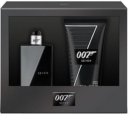 James Bond 007 Seven - Duftset (Eau de Toilette/50ml + Duschgel/150ml) — Bild N1