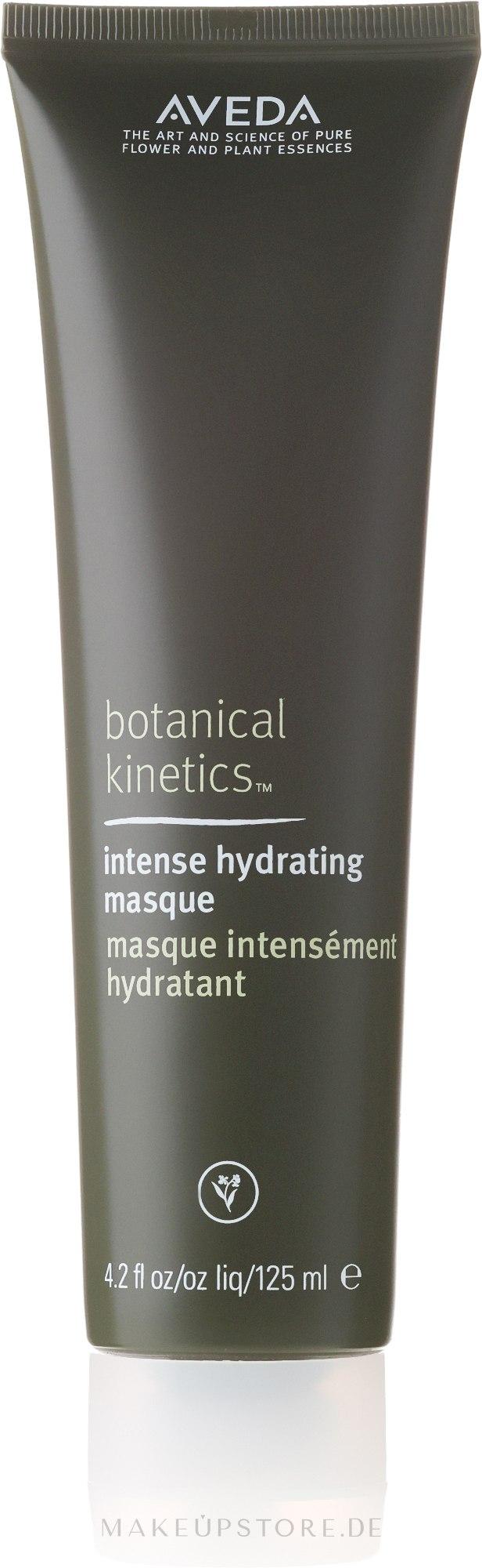 Intensiv feuchtigkeitsspendende Gesichtsmaske mit Rosenwasser - Aveda Botanical Kinetics Intense Hydrating Masque — Bild 125 ml