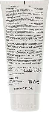 Körpermilch mit Harnstoff für sehr trockene und schuppige Haut - SVR Xerial 10 Lait Corps  — Bild N2