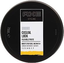 Haarstylingpaste Mittlerer Halt - Axe Urban Casual Look Flexible Paste — Bild N1