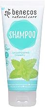 Düfte, Parfümerie und Kosmetik Shampoo mit Zitronenmelisse und Brennnessel - Benecos Natural Care Shampoo Melissa & Nettle