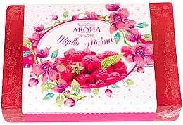Düfte, Parfümerie und Kosmetik Handgemachte Naturseife Himbeere - Delicate Organic Aroma Soap