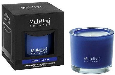 Duftkerze im Glas Berry Delight - Millefiori Milano Natural Candle Berry Delight — Bild N1