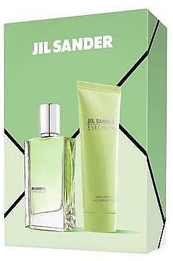 Jil Sander Evergreen - Duftset (Eau de Toilette 30ml + Körperlotion 75ml) — Bild N1